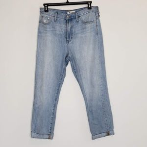 Madewell the Perfect Summer Jean cuffed jeans